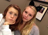 Josie and Anna