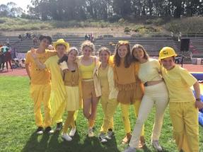 freshmen- field day
