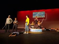 La Croink rehearsals